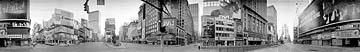 Times Square, 1980, 15.5 X 110, Silver print; 16 Cirkut camera
